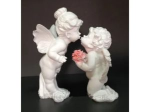 Ангелы целуются, комплект (набор из 2шт.) H – 28 см
