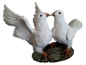 Два голубя H-22 см
