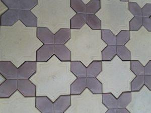 Гвоздика, плитка тротуарная вибролитая