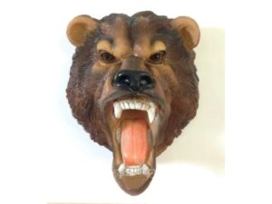 Голова медведя, навесной декор