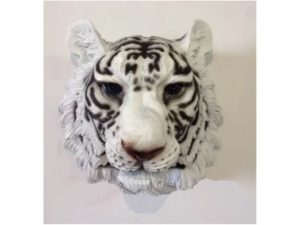 Голова белого тигра, навесной декор
