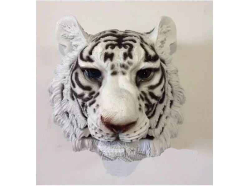 Голова белого тигра