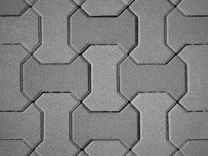 Катушка, плитка тротуарная вибролитая
