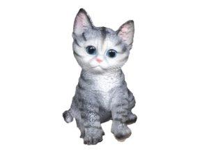 Кошка ушастик, декоративная интерьерная фигура