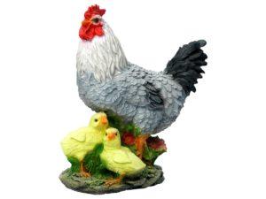 Курица с цыплятами H-30 см
