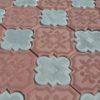 Ромашка, плитка тротуарная вибролитая