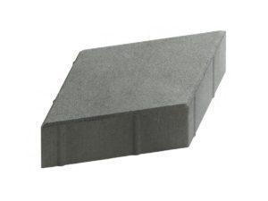 Ромб, плитка тротуарная вибролитая