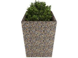 Вазон «Византия» из мытого бетона