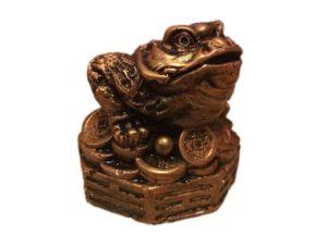 Жаба денежная, декоративная интерьерная фигура