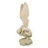 Статуэтка Ангел-женщина на камне