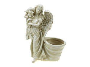Кашпо Ангел с цветами