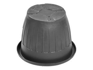 Кашпо d-50 см чёрный