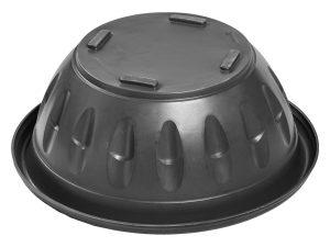 Кашпо d-80 см чёрный