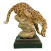 Сувениры Леопард с котенком