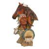 Статуэтка Лошадь с индейцем