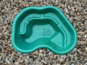 Пруд пластиковый V-110 зелёный