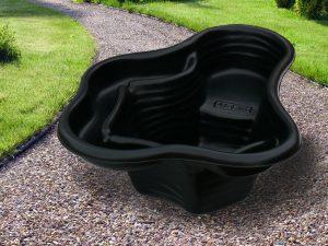 Пруд пластиковый V-135 чёрный