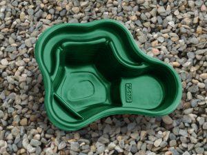Пруд пластиковый V-135 зелёный