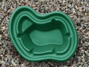 Пруд пластиковый V-140 зелёный