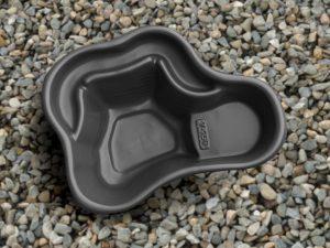 Пруд пластиковый V-150 чёрный