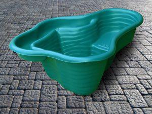 Пруд пластиковый V-150 зелёный