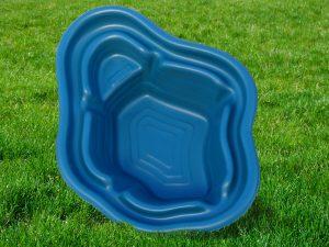 Пруд пластиковый V-190 синий