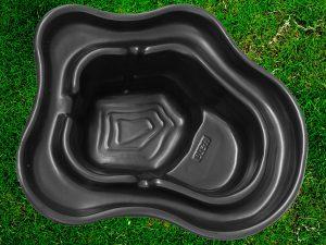 Пруд пластиковый V-270 чёрный