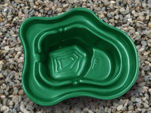 Пруд пластиковый V-270 зелёный