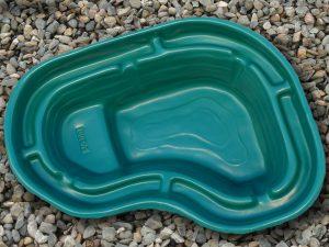 Пруд пластиковый V-300 зелёный