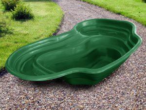Пруд пластиковый V-440 зелёный