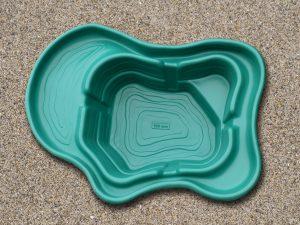 Пруд пластиковый V-500 new зелёный