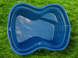 Пруд пластиковый V-500 синий