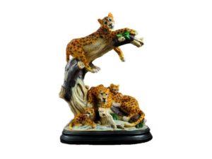 Семья леопардов
