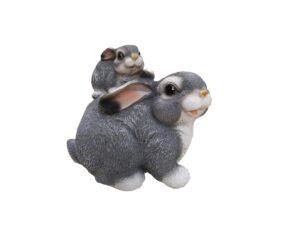 Зайчонок на зайце